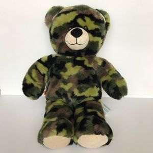 BUILD A BEAR CAMOUFLAGE BEAR ARMY USED FOR ROOM…